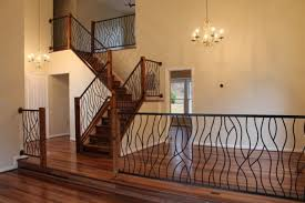 home interior railings wrought iron stair railings for stunning interior staircases