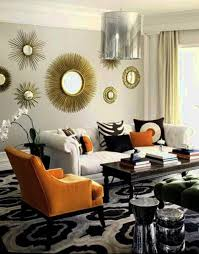 wall wonderful living room wall decor with mirrors mirror