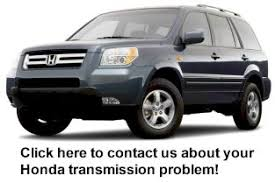 a problem with your honda pilot transmission