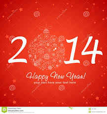 happy new years greeting cards 2014 happy new year greeting card royalty free stock photography