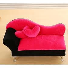 canapé princesse boîte à bijoux princesse de canapé avec 2 oreillers en forme de