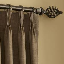 Custom Blinds And Drapery Custom Wrought Iron 1 U201d Drapery Hardware