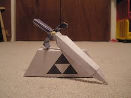 Master Sword Papercraft - master sword 2 papercraft by pancakes d on deviantart