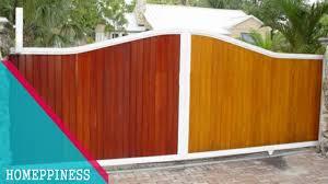 new design 2017 25 wood gate fence ideas youtube