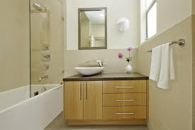 bamboo bathroom vanity traditional with tile wallpaper and wall