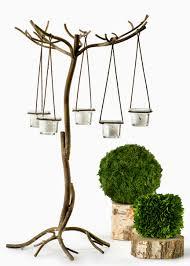 wedding centerpiece metal votive holder tree stand wedding