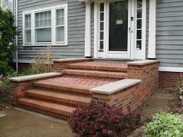 Front Staircase Design Exteriors Striking Front Concrete Stairs Design Ideas Presenting