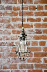 Plug In Hanging Light Fixtures by Lighting 102 Hardwiring A Plug In Fixture Clear Cloche Glass