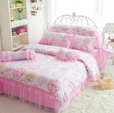 girls frilly bedding bedroom girls bedding pink brick pillows floor lamps girls