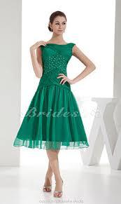 a linie herzausschnitt knielang chiffon brautjungfernkleid mit gestupft p551 bridesire abendkleider günstig 2017 bestellen
