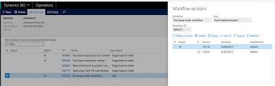 workflow not running in dynamics for operations microsoft