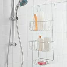 relauncher shower caddies that hook over your glass shower