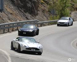 aston martin zagato black black and white aston martin db11 pair spotted in spanish traffic