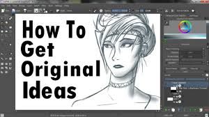 how to get original ideas for art animation and writing youtube