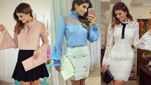 blouse of fashion 2017 2017 trends 2017 youtube