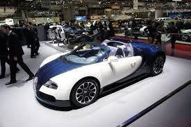 two unique bugatti veyron 16 4 grand sport models for geneva 2010