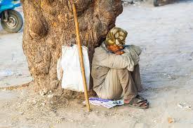 Seeking In India Indian Beggar Seeking Alms Editorial Image Image Of Beard