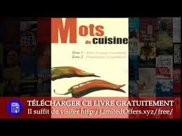 ots de cuisine mots de cuisine tome 1 tours de et matériels tome 2