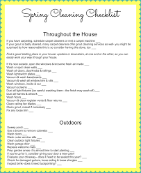 spring cleaning checklists frugal homemade mashup mom