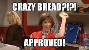 Crazy Lady Meme - crazy bread approved target lady quickmeme