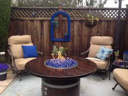 How To Lite A Fire Pit - best 25 diy gas fire pit ideas on pinterest wine barrel fire