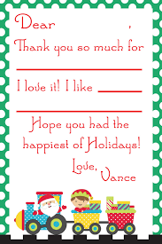 christmas thank you cards christmas thank you notes for kids free printable
