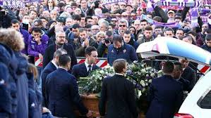 funeral fans davide astori funeral fans and football one news page