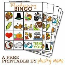 free printable thanksgiving bingo cards festival collections