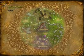 Wow Kalimdor Map Wow Farmer Wow Forge Location Un U0027goro Crater Marshals Stand
