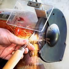 Old Bench Grinder How To Sharpen Tools On A Bench Grinder