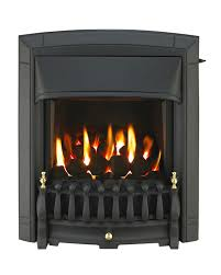 dream homeflame he slide control inset gas fire black 0576121