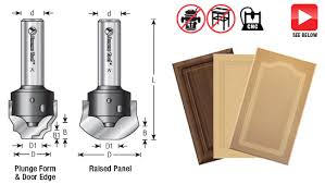 router bits for cabinet door making cnc simulated mdf raised panel door router bits toolstoday com
