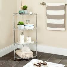free standing bathroom shelving you u0027ll love wayfair
