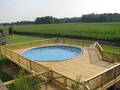 18ft above ground pool deck plans eplans deck plan poolside