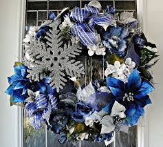 White Christmas Door Decorations by 49 Best Muw Blue Christmas Images On Pinterest Christmas Ideas