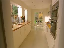 Kitchen Idea Pictures Kitchen Idea Narrow Kitchen Design With Window Sink