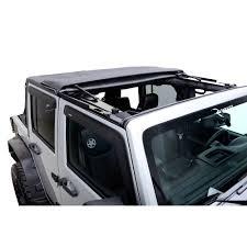 jeep wrangler unlimited soft top rampage 139835 wrangler jk soft top kit trailview frameless 2007