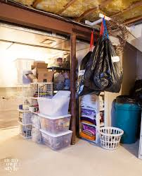 how to declutter a basement and in my own style