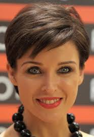 womans short hairstyle for thick brown hair short hairstyle for mature women hairstyles weekly