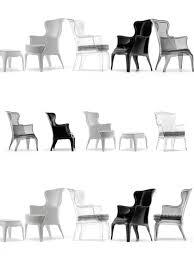 sessel italienisches design sessel im modern barockstil italienisches design farbe transparent