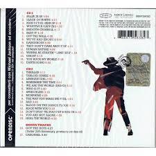 king of pop the italian fan s selection by michael jackson cd x