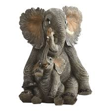 sitting elephant statue christmas tree shops andthat