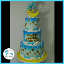 twinkle twinkle little star baby shower cake blue sheep bake shop