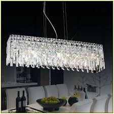 Broadway Linear Crystal Chandelier Linear Crystal Chandelier Lighting Home Design Ideas