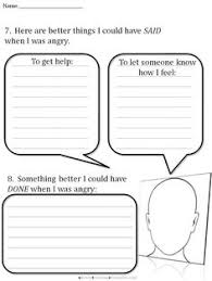 cbt worksheets for angry teens coping with anxiety worksheets