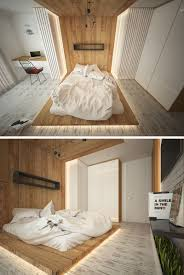 Bedroom Wall Hide A Bed Highlight Your Bed With A Floor To Ceiling Headboard And Hidden