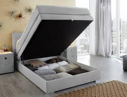 Schlafzimmer Betten Mit Bettkasten Boxspringbett Amalina 140x200 Grau Mit Bettkasten Und Topper