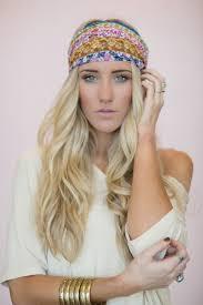 hippie hair bands boho headband hair bands patchwork wrap by threebirdnest