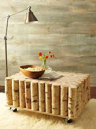 Birch Tree Decor 40 Diy Log Ideas Take Rustic Decor To Your Home Amazing Diy