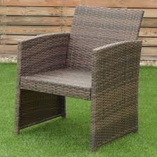 4pcs weatherproof patio garden furniture set lawn sofa outdoor
